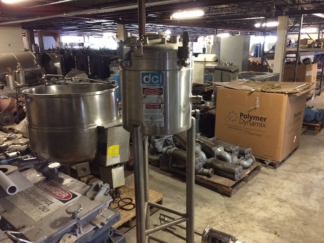 Used DCI 1 gallon 316 stainless steel reactor
