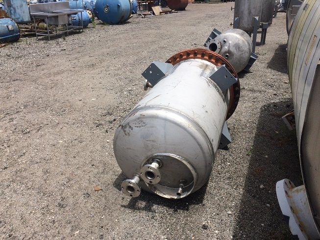 Used Baeuerle & Morris Inc. approx 140 gallon 304 stainless steel reactor