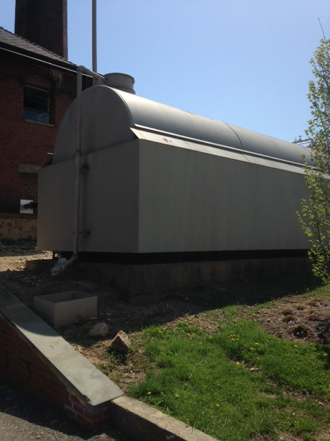 Used approximately 20,000 gallon horizontal fuel tank(SOLD)