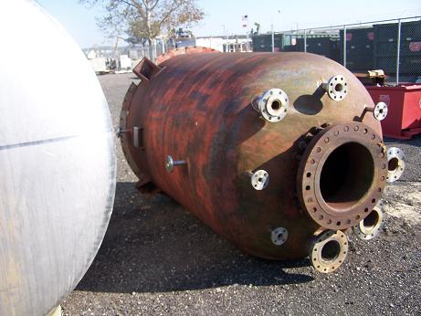 Used Lucey Boiler approximately 1000 gallon vertical C/S heavy duty