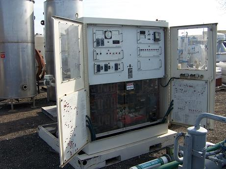 Used Hobart skidded 400HP vertical 60/400HZ frequency converter(SOLD)