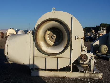 Used Acousta Foil Blower manufactured by The New York Blower Co.