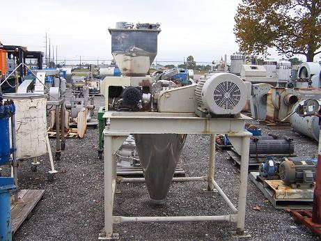 Used Fuji Paudal Co. 304 stainless steel hammer mill.  (SOLD)