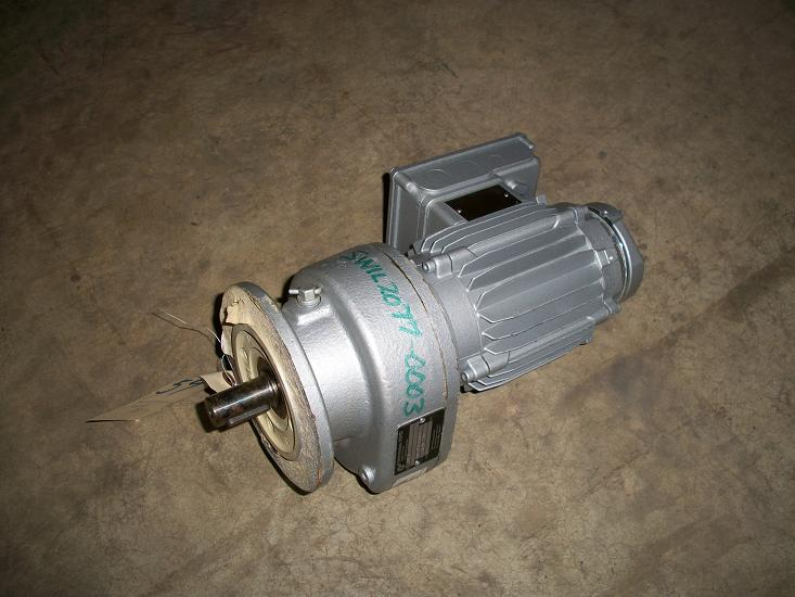 Unused Nord Gear reducer.  Type: SK-01F-F