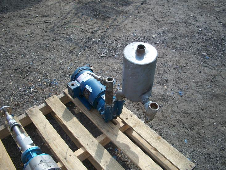 Used SIHI Liquid ring vacuum pump.  Model LEM 40-AZ-AAA-OA-O-AT.