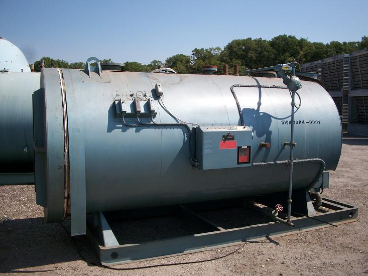 Used Williams & Davis Boiler Inc. 150 HP 2 Pass Dryback Firetube Boiler