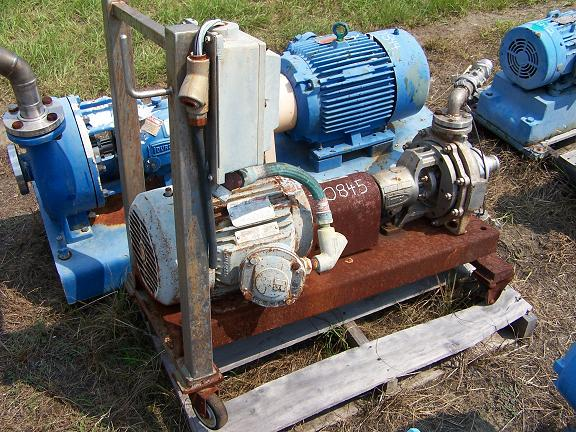 Used Durco Alloy centrifugal pump.  Size: 1.5 X 1 X 8