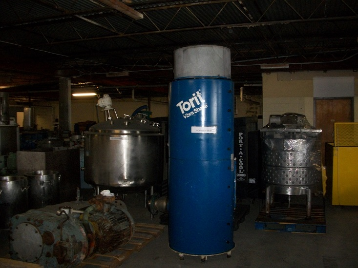 Used Torit Vibra Shake Model RVS-15 dust collector