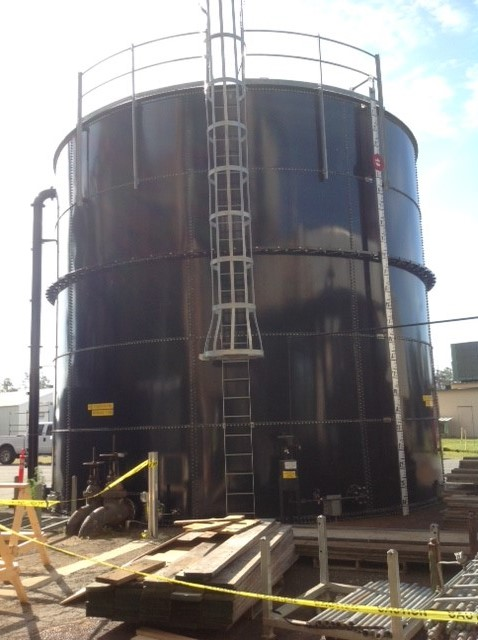Used USA Industrial 104,100 gallon carbon steel tank