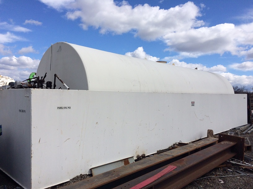 Used General Industries approximately 20,000 gallon carbon steel fuel tank