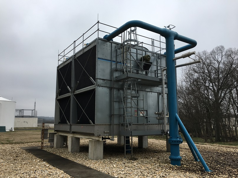 Used Marley approximately 1300 ton model NC9102CM cooling tower