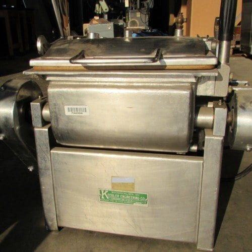 Used Keebler Engineering Company approximately . 0.33 cu. ft.  Dual Shaft R