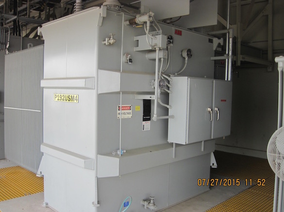 ABB Liquid Filled Transformer