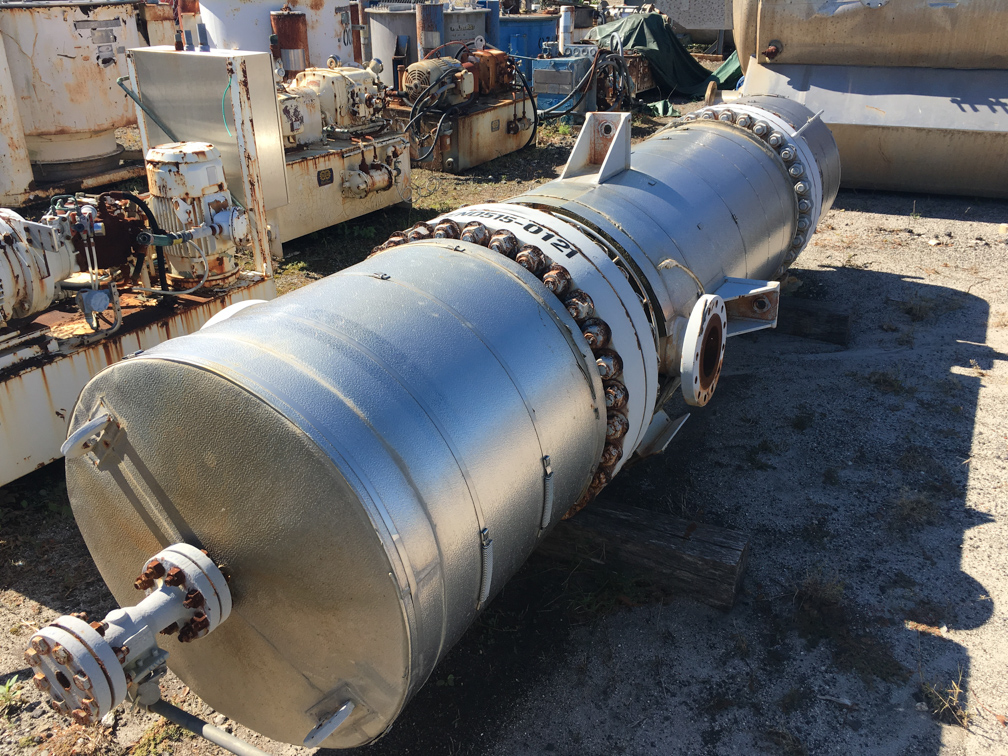 Unused Gaspar Inc. approximately 693 square foot Shell and Tube HE