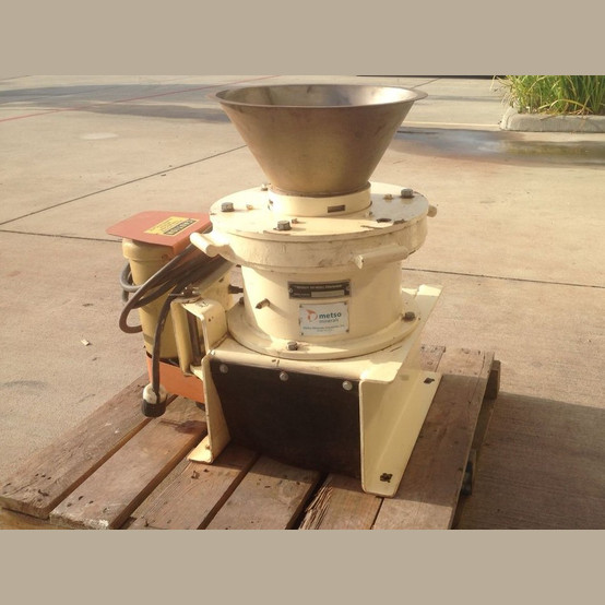 Used Marcy Gyroll 10 inch cone crusher
