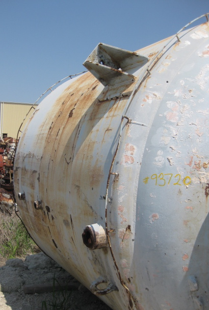 Used Pfaudler 3000 gallon glass lined reactor.  Model RA-96-3000/JCWVA