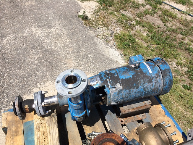 Used Carver Pump Co. Type 2 X 1.5 X 10GH 20P Pump