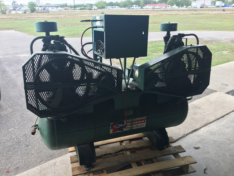 Used Champion Climate Control duplex air compressor