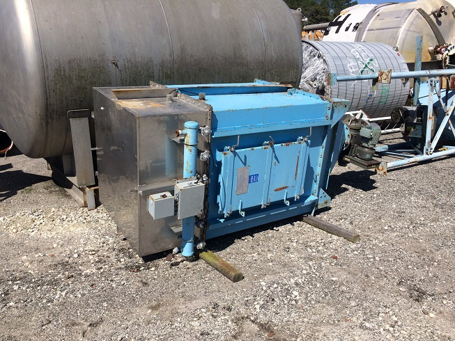 Used Flex-Kleen Model 22.5/36-PVBL 36 III G dust collector