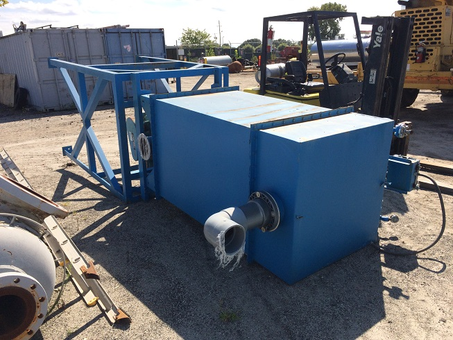 Used Flex-Kleen Model 58 BVBC 25 III dust collector