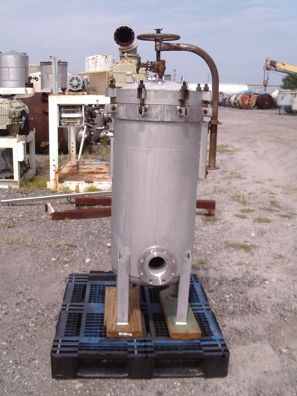 Used Commercial Filters Division 304 stainless steel bag filter