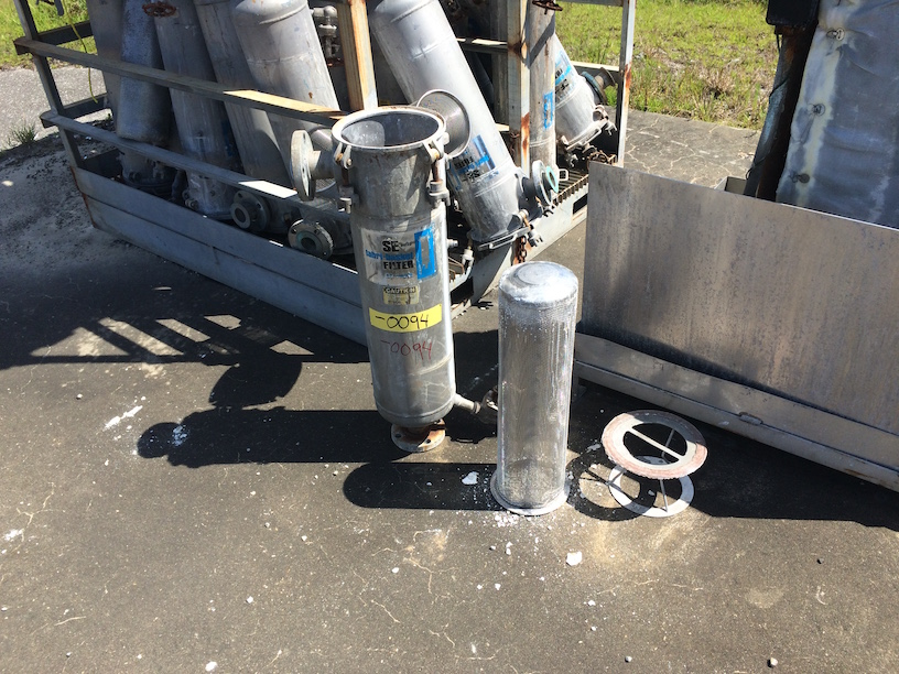 Used R-P Products stainless steel bag filter