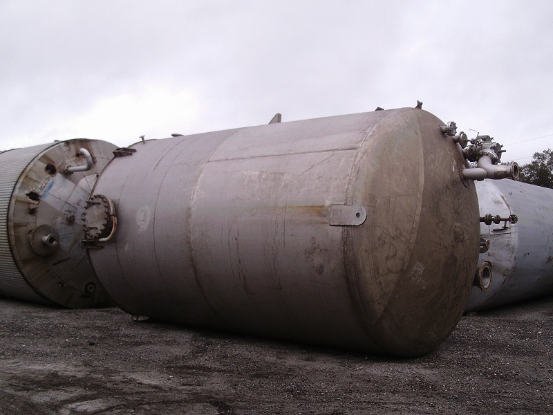 Used Industrial Alloy Fabricators Inc. approx 19,300 gallon 304 S/S Tank