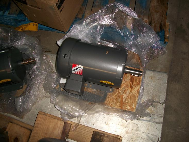 Unused Baldor/Reliance 5HP Motor