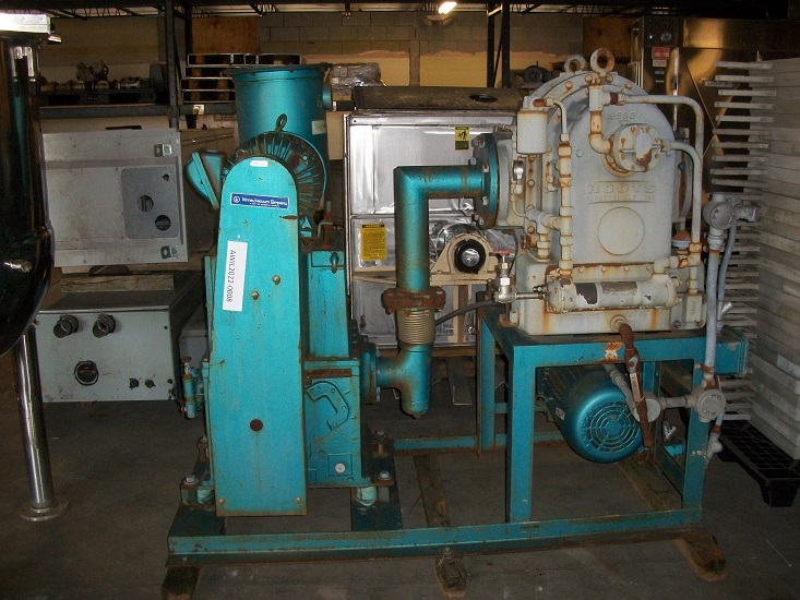 Used Kinney High Vacuum Equipment System