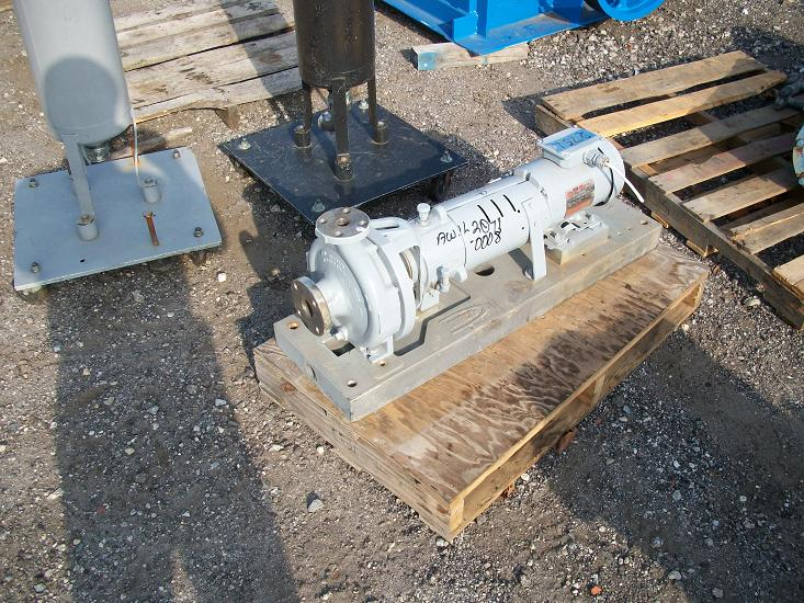 Used Durco Mark III D4 alloy centrifugal pump.  Size 1K1.5 X 1-82/57