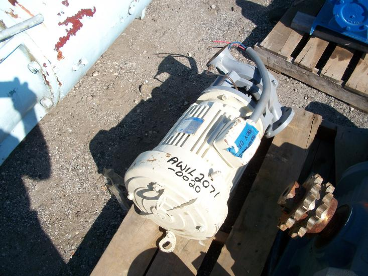 Used Ingersoll-Rand type 1-VK-7 1/2 inliner carbon steel pump