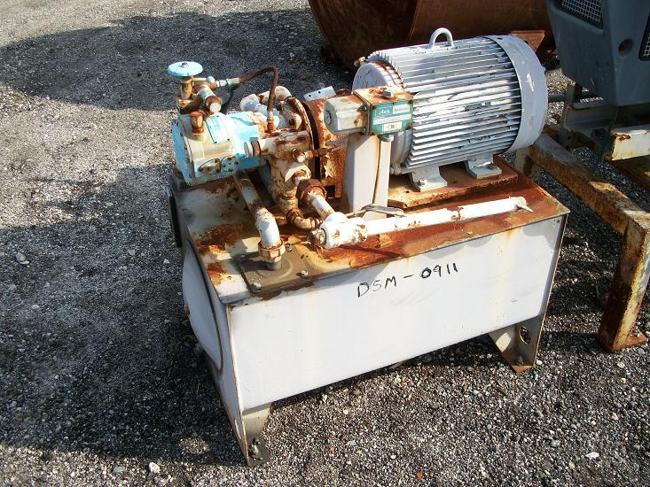Used Abex Denison Model PV05-006-31R-063 Hydraulic Pump
