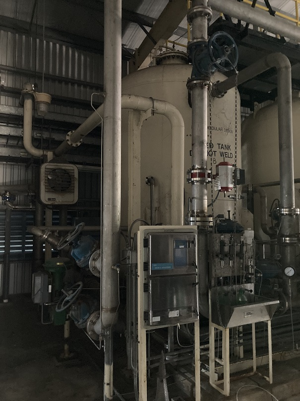Used Aquatech Demineralized Water treatment system