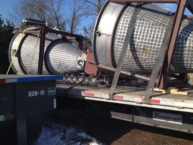 USED 70 CUBIC FT JH DAY MODEL MBX 700 NAUTA VACUUM DRYER-MIXER