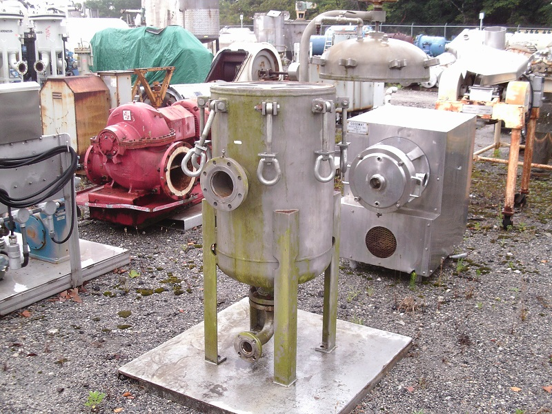 Used (4) Multi-bag stainless steel filter