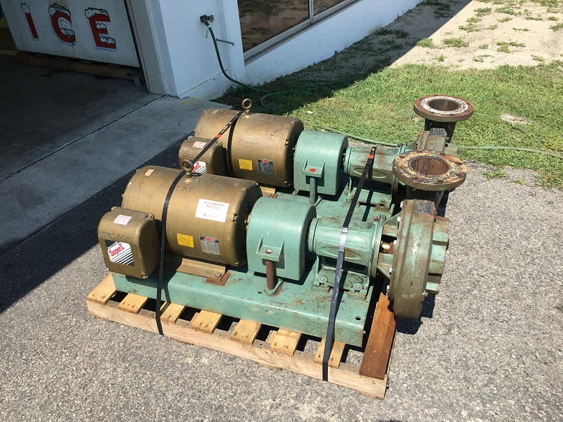 Used Peerless Model F2-1250 centrifugal pump