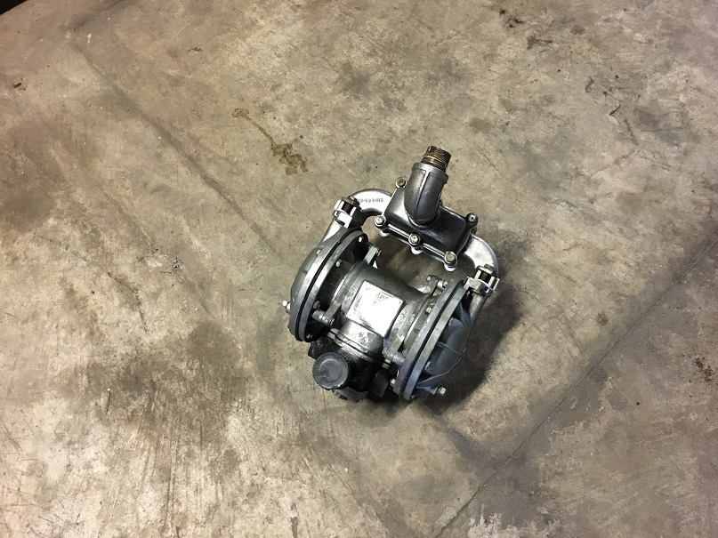 Used Sandpiper stainless steel diaphram pump. Model SB1-A, Type SGN-2-SS.