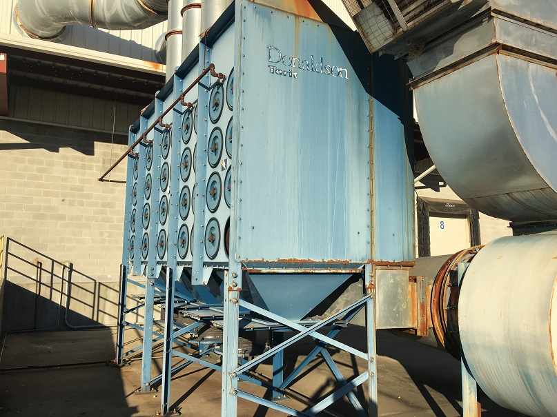 Used Donaldson Torit Model DFT4-80 Downflo II dust collector