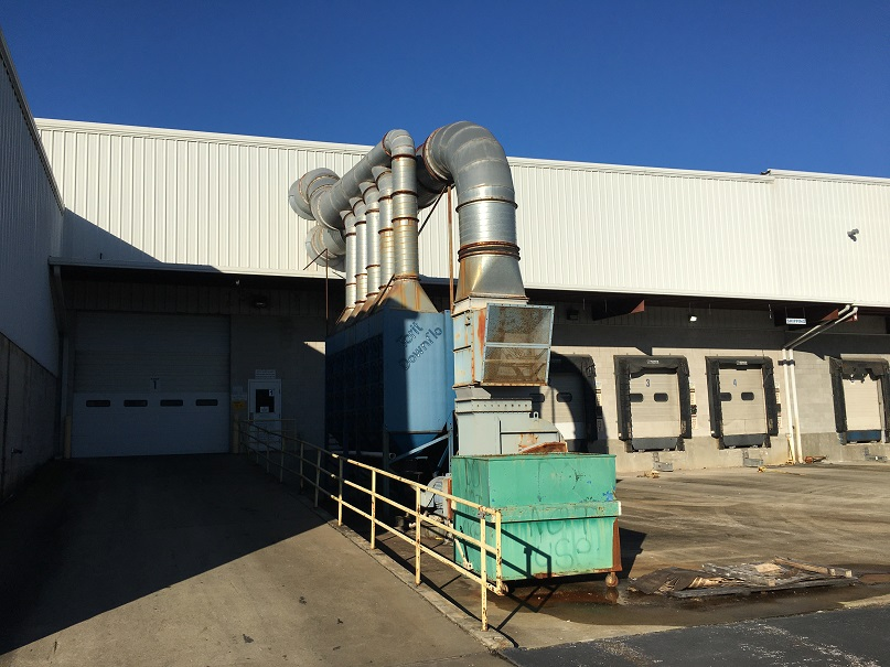 Used Donaldson Torit Model DFT4-80 Downflo II dust collector.