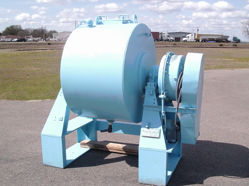 Used Epworth Mfg. Co. 50 gallon ceramic jacketed ball mill
