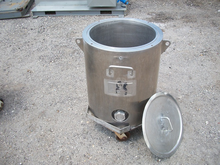 Used Hicks approximately 20 gallon 304 stainless steel jacketed tank
