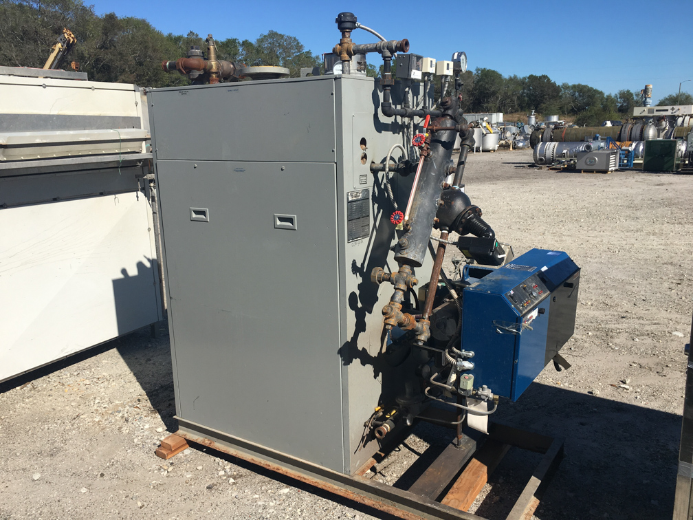 Used Bryan Boiler Model DR650-S150-FDG 15.5HP Boiler