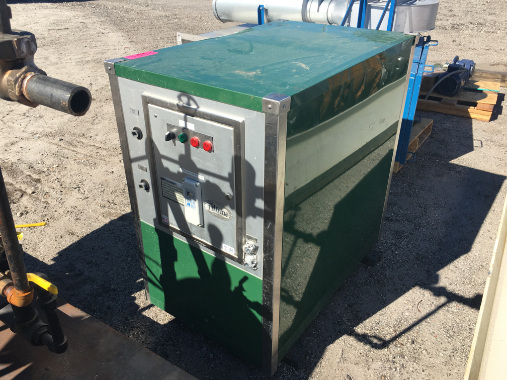 Used Filtrine Model PC-150-15W water chiller