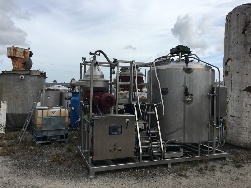 Used GEA Westfalia Model RSC-30-01-076 Separator Skid