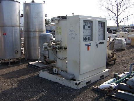 Used Hobart skidded 400HP vertical 60/400HZ frequency converter
