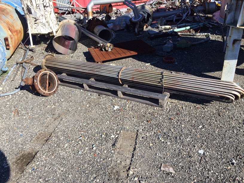Used Buxton Mfg.  100 sq. ft. U-tube(tube bundle).