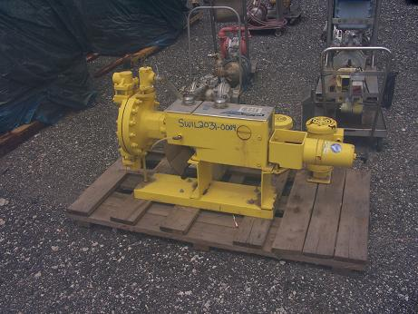 Unused Milroyal high performance diaphragm liquid end 316S/S metering pump