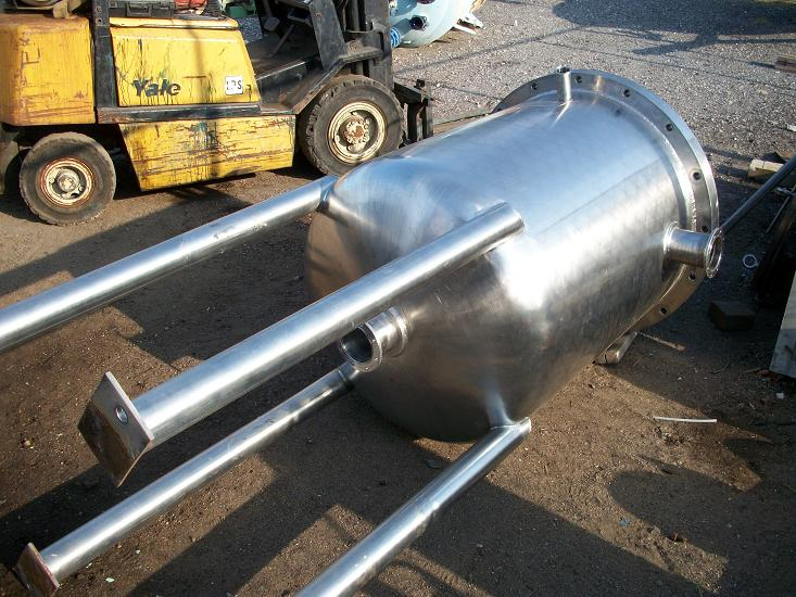 Used Millipore 304 stainless steel filter