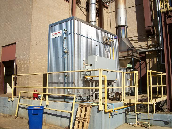 Used Catalytic Products International Vector-5 catalytic oxidizer